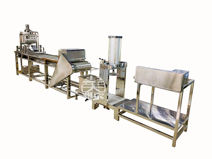 干豆腐生产线设备图片展示