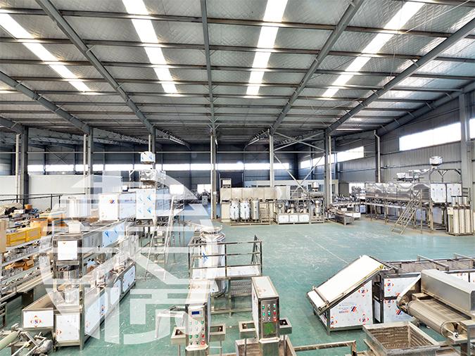 彭大顺豆制品设备厂家的工厂展示
