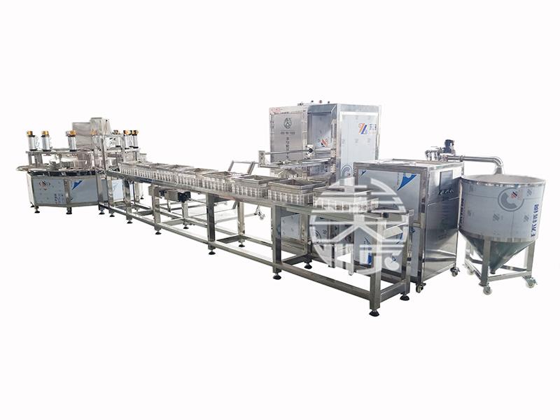 豆腐生产线做豆腐,标准化生产真给力