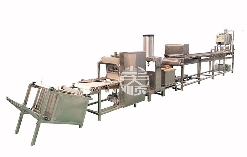 大型豆腐皮生产线