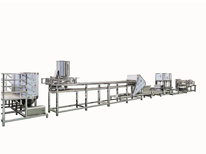 自动干豆腐生产线